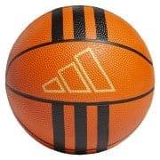 3-Stripes Rubber Mini basketball Orange
