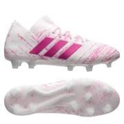 adidas Nemeziz 18.1 FG/AG Virtuso - Hvid/Pink