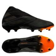 adidas Nemeziz 19+ FG/AG Dark Motion - Sort/Orange