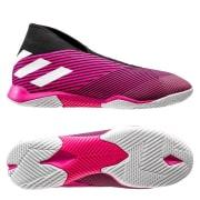 adidas Nemeziz Tango 19.3 IN Laceless Hard Wired - Pink/Hvid