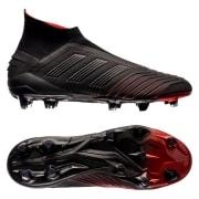 adidas Predator 19+ FG/AG Boost Archetic - Sort/Rød