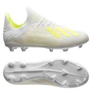 adidas X 18.1 FG/AG Virtuso - Hvid/Gul Børn