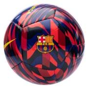 Barcelona Fodbold Pitch - Bordeaux/Blå/Gul