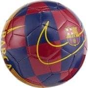 Barcelona Fodbold Skills - Blå/Bordeaux/Guld