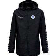 Greve Fodbold All Weather jakke - Sort/Hvid B