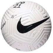 Nike Fodbold Flight - Hvid/Sort