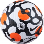 Nike Fodbold Flight Premier League - Hvid/Ora