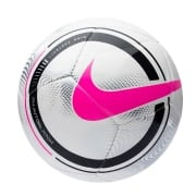 Nike Fodbold Phantom - Hvid/Sort/Pink