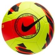 Nike Fodbold Pitch Motivation - Neon/Rød/Sort