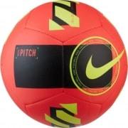 Nike Fodbold Pitch Motivation - Rød/Sort/Neon