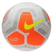 Nike Fodbold Pitch Premier League - Hvid/Oran