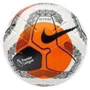 Nike Fodbold Strike Premier League - Hvid/Ora