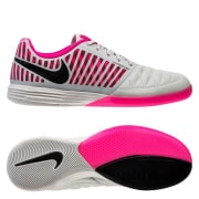 Nike Lunargato II IC Home Crew - Grå/Sort/Pink