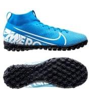 Nike Mercurial Superfly 7 Academy TF New Lights - Blå/Hvid/N