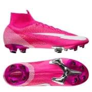 Nike Mercurial Superfly 7 Elite FG Mbappé Rosa - Pink/Hvid/Sort