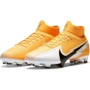 Nike Mercurial Superfly 7 Pro FG Daybreak - Orange/Sort/Hvid