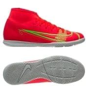Nike Mercurial Superfly 8 Club IC Spectrum - Rød/Sølv