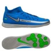 Nike Phantom GT Club DF IC Spectrum - Blå/Sølv/Grøn