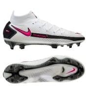 Nike Phantom GT Elite DF FG Daybreak - Hvid/Pink/Sort