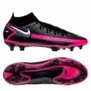Nike Phantom GT Elite DF FG - Sort/Sølv/Pink