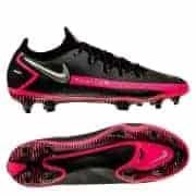 Nike Phantom GT Elite FG - Sort/Sølv/Pink