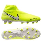Nike Phantom Vision Elite DF FG New Lights - Neon/Hvid