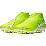 Nike Phantom Vision Pro DF FG New Lights - Neon/Hvid