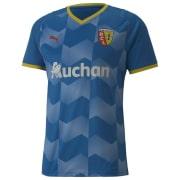 RC Lens Third Shirt Plat Blue-Cyber Yellow