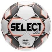 Select Fodbold Futsal Master Shiny - Hvid/Ora