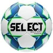 Select Fodbold Solo Soft Indoor - Hvid/Blå/Gr